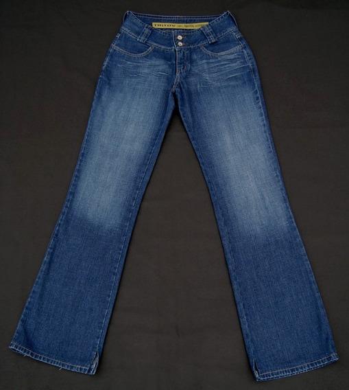 Triton - Calça Jeans Estonada - Tam 36 - Feminina