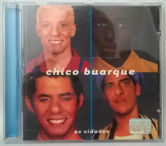 Cd Chico Buarque - As Cidades - Cd Nunca Usado