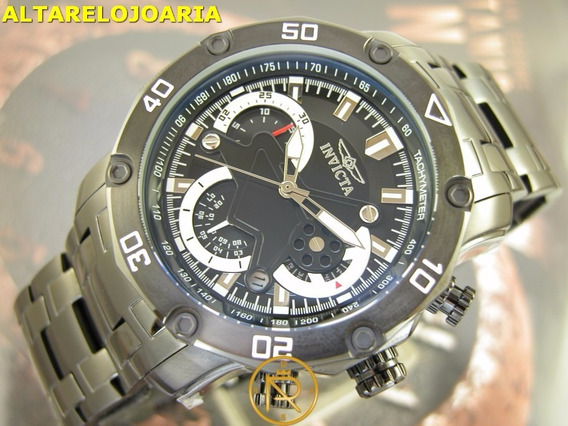 Relógio Invicta Pro Diver Cronografo Preto Pvd 22763
