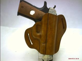 Estuche Para Pistola 9mm-de Cuero-amoldada-somos Fabricantes