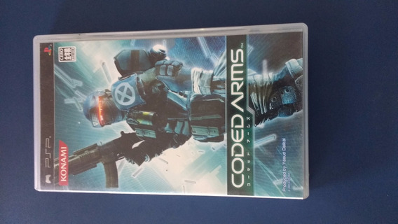 Umd Psp Coded Arms Playstation Portátil Jogo Original