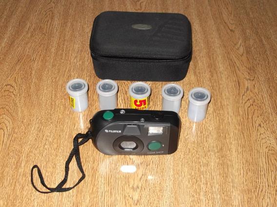 Máquina Fotográfica Antiga Fujifilm Clear Shot