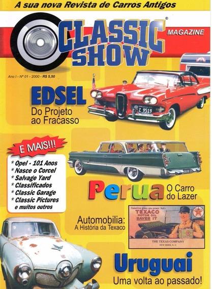 Classic Show Nº1 Edsel Uruguai História Da Texaco Corcel