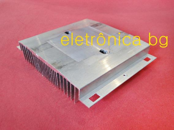 Dissipador Aluminio Peltier Led Fontes Projetos Com Furação
