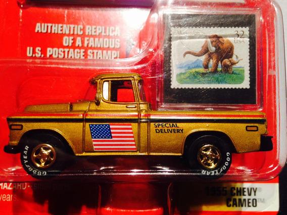 Johnny Lightning Prehistoric Animal Series Chevy 1955 Cameo