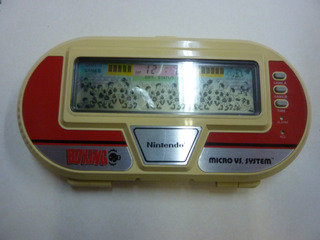 Juego Boxing Micro Vs System Nintendo Game & Watch