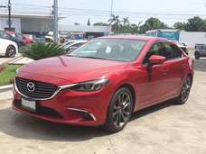 Mazda 6 I Grand Touring Plus 2016 Rojo 4 Cilindros 2.5lt