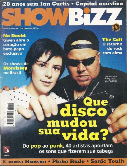 Revista Bizz 178,roberto Carlos,marcelo Nova,capital Inicial