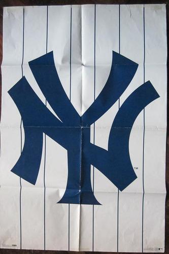 Imagen 1 de 5 de Poster Baseball Ny Yankees