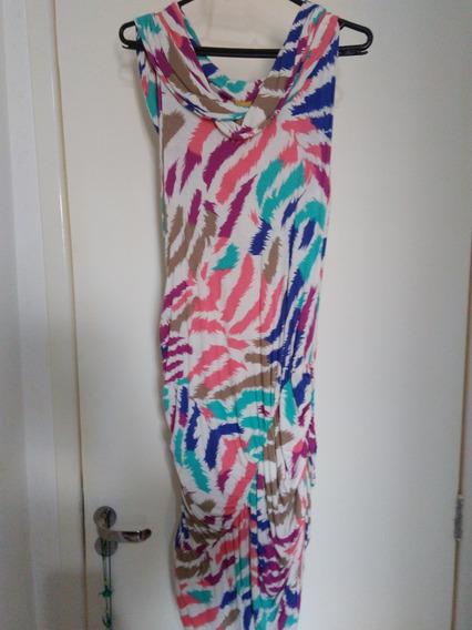 Vestido Curto Amapola Color M (42) - Moda Gestante Megadose