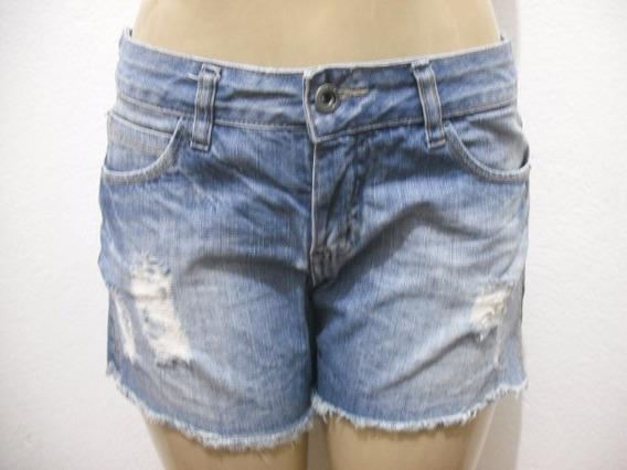 Shorts Jeans Hering Tam 40 Usado Bom Estado