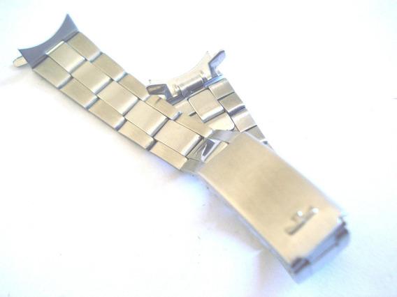 Pulseira Technos Aço Relógio Feminino Pulso 16 Mm