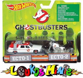 Hot Wheels Ghostbusters Ecto-1 & Ecto-2 Moto Retro Lacrado
