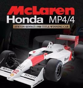 Mclaren Mp4/4 Ayrton Senna - Deagostini - Fascículos
