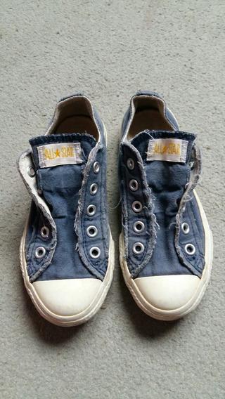 Zapatillas De Niños Importadas All Star Converse Azules