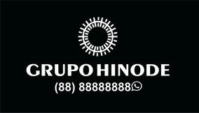 Adesivo Hinode C/ Telefone Para Vidro Traseiro Veiculo