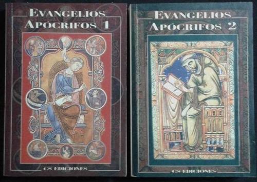 Evangelios Apocrifos 2 Tomos Cs Ediciones