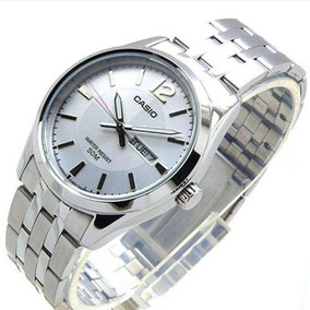 Relógio Casio Feminino Ltp-1335d-7av Visor Prata Charmoso