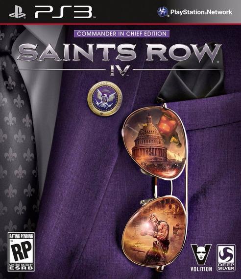 Saints Row Iv (4) - #frete Grátis