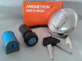 Kit Chave Ignição Contato Fan 125 2009 Até 2013 Magnetron