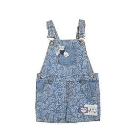 Jardineira Jeans Infantil - Paisley