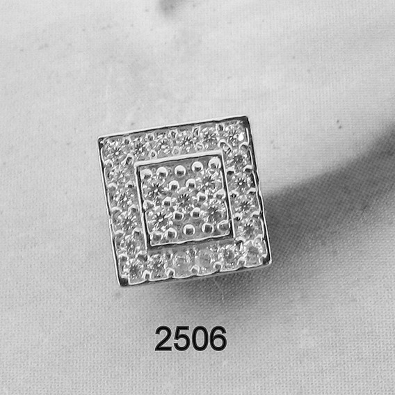 2506 Brinco De Ouro Branco Rpw Joias 18k-750