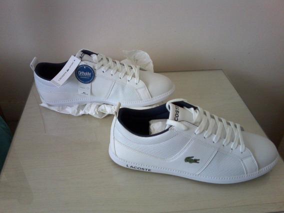 Zapatillas Lacoste Sport Ortholite Blanca,nuevas Originales