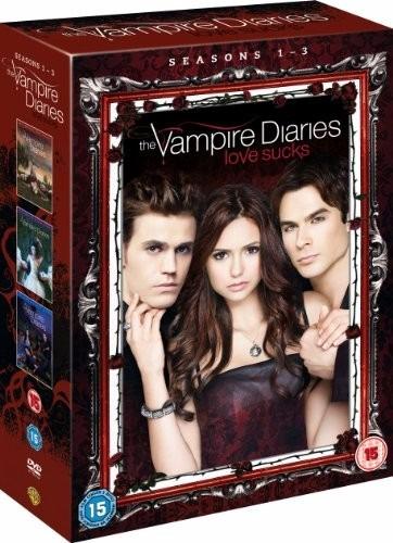 The Vampire Diaries Temporadas 1 2 3 Diarios De Vampiros Dvd Mercado Libre