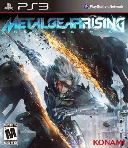 Metal Gear Rising Revegeance Ps3 Legendado Br- Psn Via Email