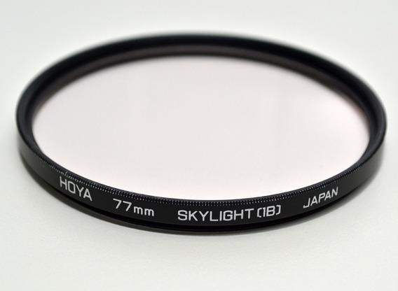Filtro Hoya Skylight (1b) 77mm (made In Japan - Excelente)