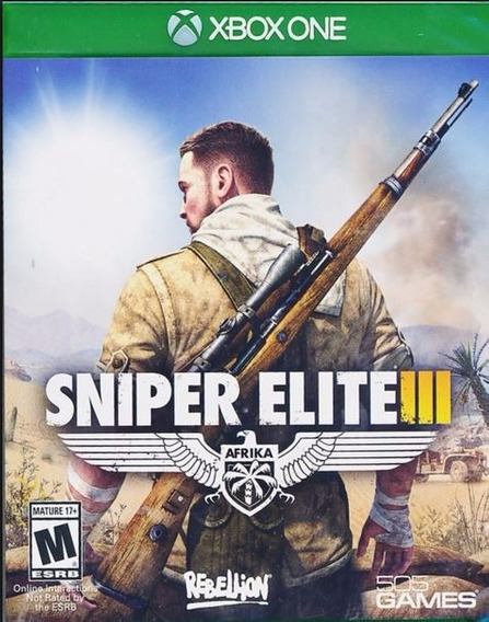 Sniper Elite Iii Xbox One, Impecável, Sem Riscos, Original
