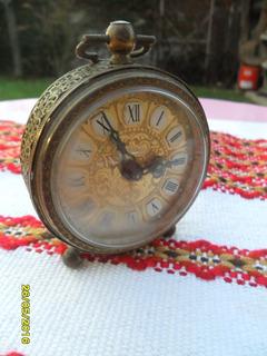 Antiguo Reloj Despertador Aleman West Germany A Reparar