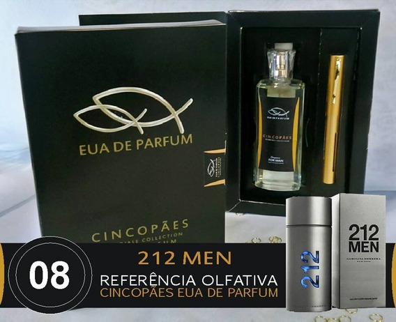 Perfume 212 Man Cinco Pães