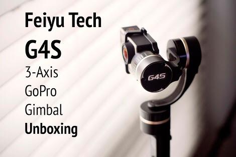 Stedycam Feiyu Tech G4 Gopro Hero4 3 3+ Gimbal Estabilizador