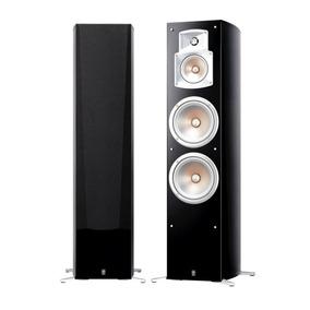 Caixa Acústica Yamaha Ns-777bl Com 250w Rms De Potência