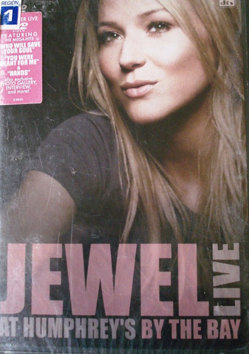 Jewel - Live At Humphreys By The Bye Nuevo Importado Usa Dvd