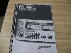 Manual Receiver Polyvox Pr-4150 Cópia
