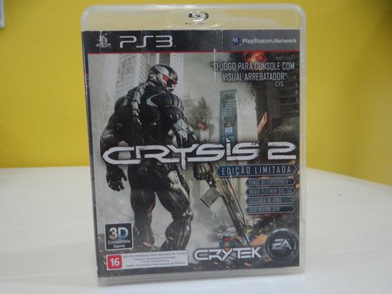 Crysis 2 -edição Limitada - Ps3 - Completo!