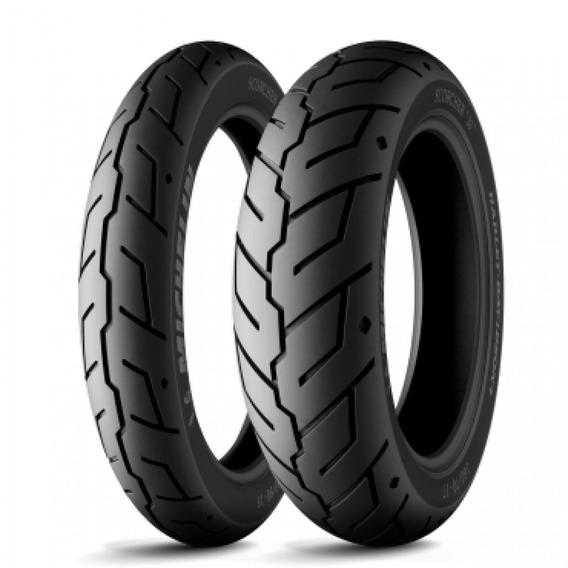 Pneu Michelin Scorcher 31 130/90-16 150/80-16 Hd Forty Eight