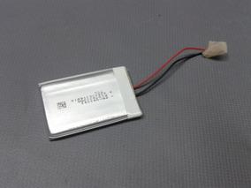 Bateria P/ Gps 3,7v 400ma 4,3cm X 3cm X 3mm 2 Fios