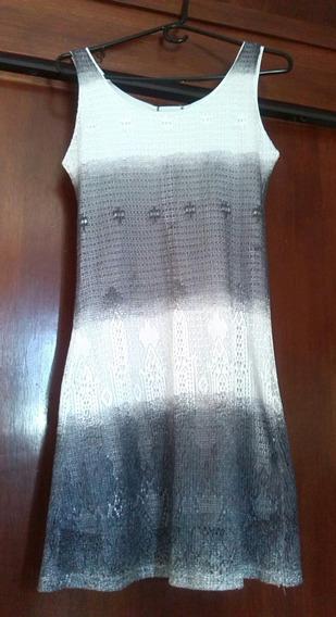 Vestido Informal De Dama, De Tela Semisintética, Talla M