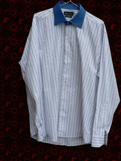 Camisa Ernesto Mata Algodon Italiano 42 Impecable C Nuevo