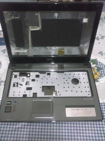 Carcaça Acer Aspire 4251 Completa Cabo Flat E Bateria