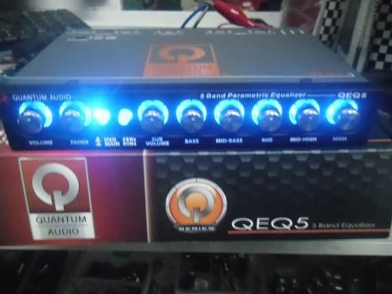 Quantum Ecualizador 5 Bandas Con Crossover Control De Bajos