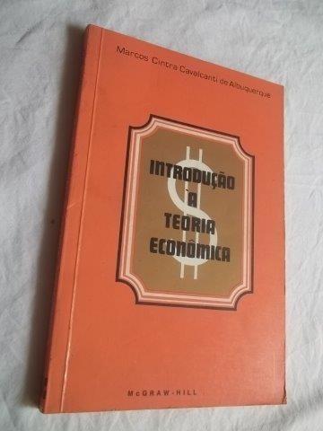 * Livro Introdução A Teoria Economica Marcos Cintra Caval