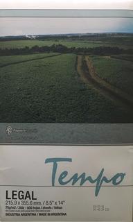 Resma Oficio 75gr Tempo Villa Urquiza Consultar Envío Gratis