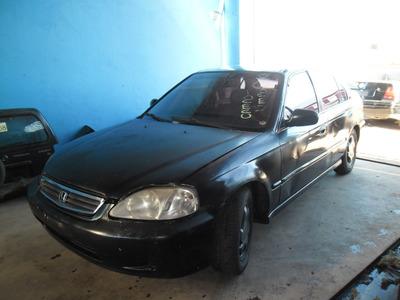 Sucata Civic Ex 1.6 16v 99 Pra Tirar Peças Motor Cambio Etc