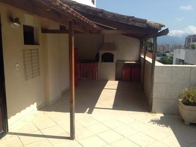 Freguesia - Cobertura Duplex,306 M2, 4 Quartos,2 Suítes,2vgs