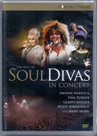 Dvd Soul Divas - The Best Of / In Concert - Novo***