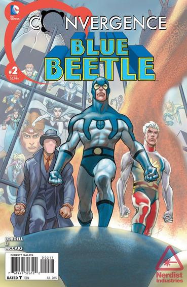 Gibi Convergence Blue Beetle N°02 Dc Comics